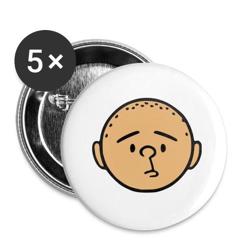 pilkstflcolor - Stora knappar 56 mm (5-pack)
