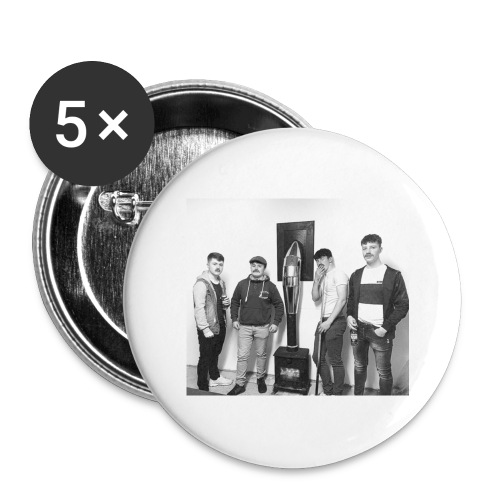 Men of Money - Buttons large 2.2''/56 mm (5-pack)