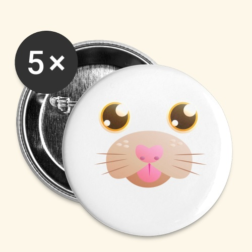 CAT Blep - Buttons large 2.2''/56 mm (5-pack)
