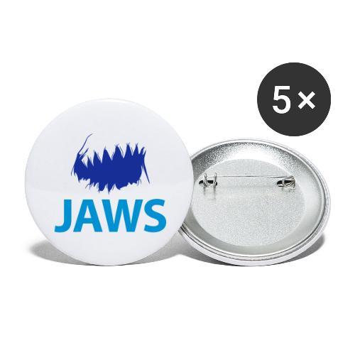 Jaws Dangerous T-Shirt - Buttons large 2.2''/56 mm(5-pack)