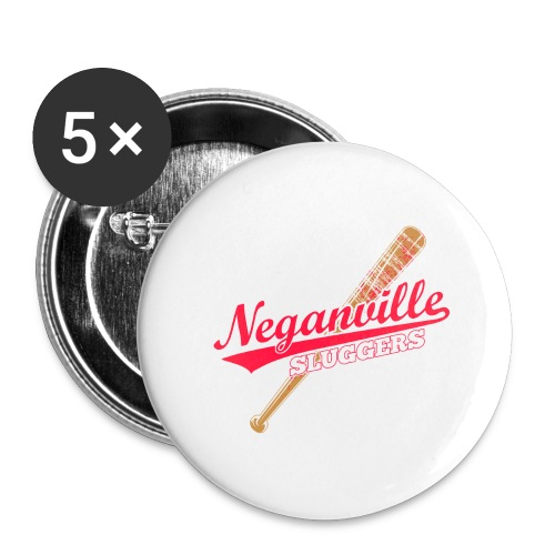 Neganville Sluggers - Buttons large 2.2''/56 mm (5-pack)