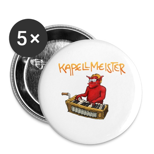 Kapellmeister - Buttons large 2.2''/56 mm (5-pack)