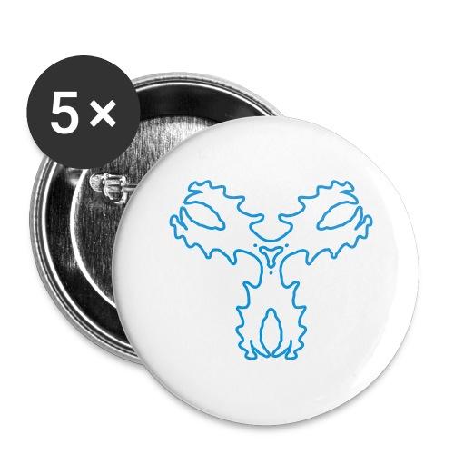 Fluxkompensator - Buttons groß 56 mm (5er Pack)