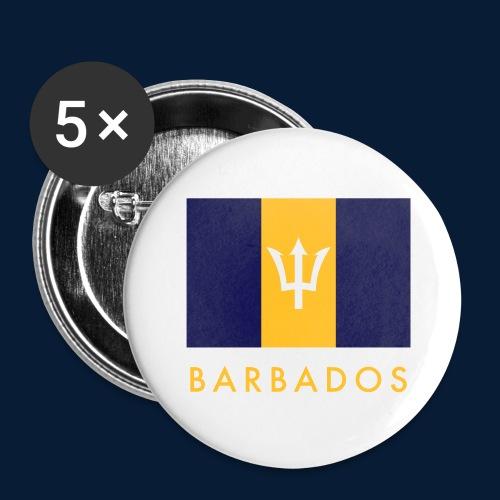 Barbados - Buttons groß 56 mm (5er Pack)