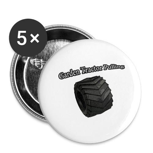 Børne - Pulling - Buttons/Badges stor, 56 mm (5-pack)