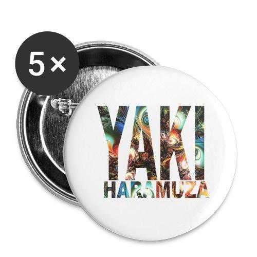 YAKI HARAMUZA BASIC HERR - Stora knappar 56 mm (5-pack)