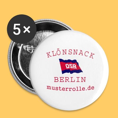 KiB-Logo-gif - Buttons groß 56 mm (5er Pack)