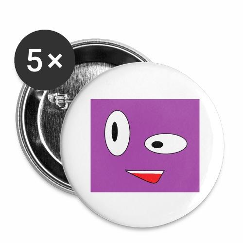 HLKT - Buttons groß 56 mm (5er Pack)