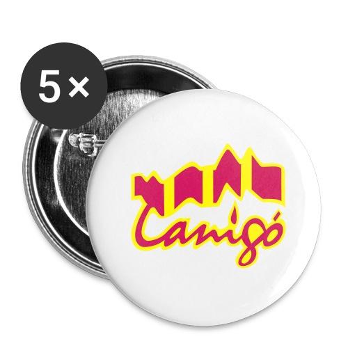 canigo catala - Buttons groß 56 mm (5er Pack)
