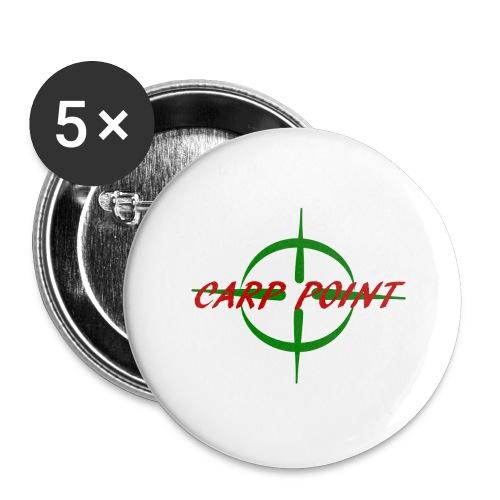Carp Point T-Shirt - Buttons groß 56 mm (5er Pack)