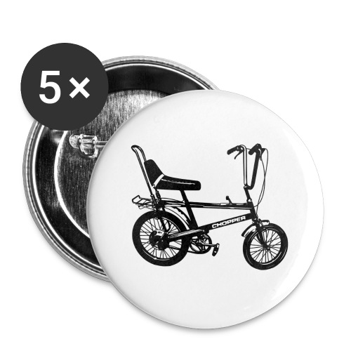 Chopper - Buttons large 2.2''/56 mm(5-pack)