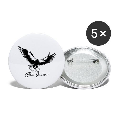 Eagle Bow Hunter - Buttons groß 56 mm (5er Pack)