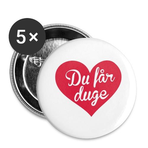 Ekte kjærlighet - Det norske plagg - Stor pin 56 mm (5-er pakke)