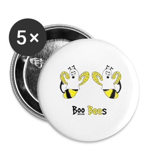 Boo Bees Halloween - Rintamerkit isot 56 mm (5kpl pakkauksessa)