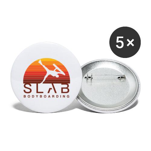 Chase the Sun - Buttons large 2.2''/56 mm(5-pack)