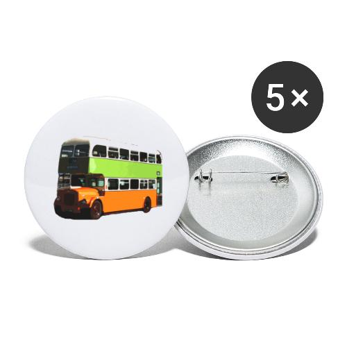 Glasgow Corporation Bus - Buttons large 2.2''/56 mm (5-pack)