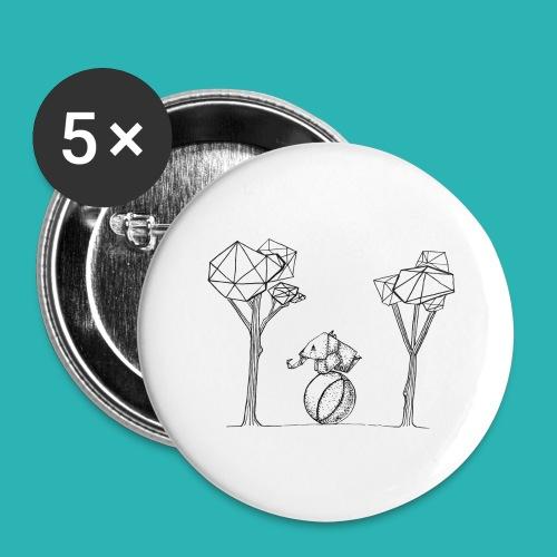 Rotolare_o_capitombolare-01-png - Confezione da 5 spille grandi (56 mm)