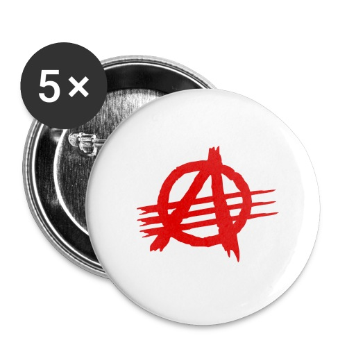 AGaiNST ALL AuTHoRiTieS - Buttons large 2.2''/56 mm(5-pack)