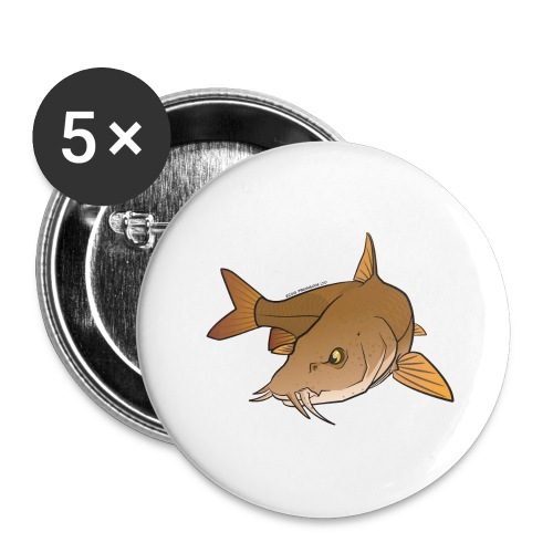 Red River: Barbel - Buttons large 2.2''/56 mm (5-pack)