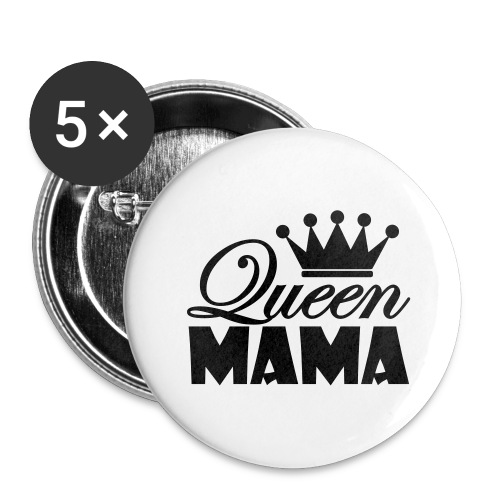queenmama - Buttons groß 56 mm (5er Pack)
