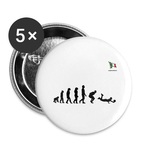 evolution volley defense - Confezione da 5 spille grandi (56 mm)