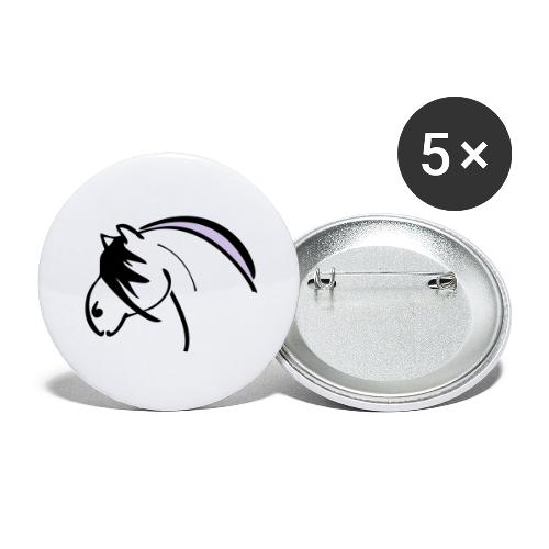 nor - Buttons groß 56 mm (5er Pack)