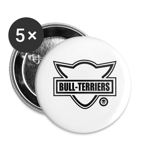 Bull Terrier Original Logo - Buttons large 2.2''/56 mm(5-pack)
