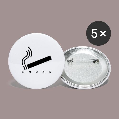 smoke - Buttons groß 56 mm (5er Pack)