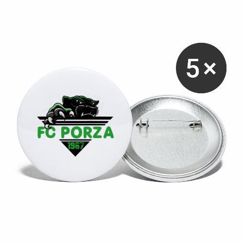 FC Porza 1 - Buttons groß 56 mm (5er Pack)