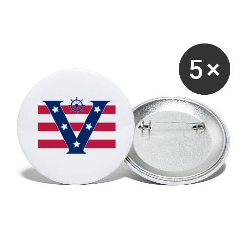 VICTORY - Buttons large 2.2''/56 mm (5-pack)