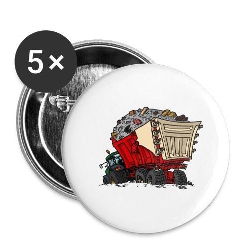0956 kar PUIN - Buttons groot 56 mm (5-pack)