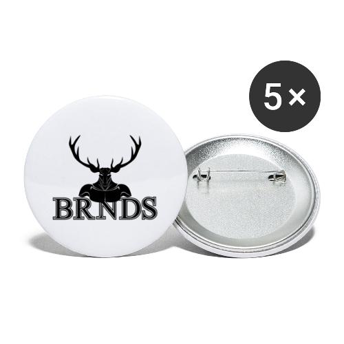 BRNDS - Confezione da 5 spille grandi (56 mm)