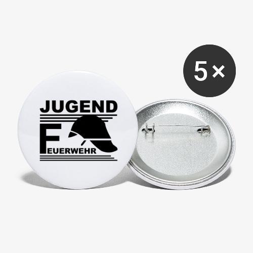 Jugend Feuerwehr Helm - Buttons groß 56 mm (5er Pack)
