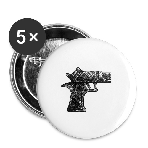 Pipa png - Buttons groot 56 mm (5-pack)