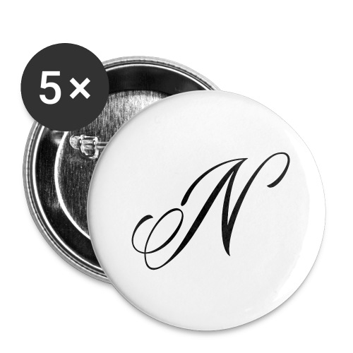NUTTELOGO2NEW - Buttons large 2.2''/56 mm(5-pack)