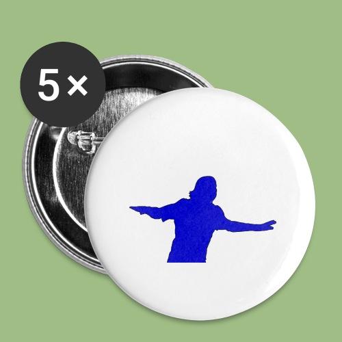Drogba CFC - Stora knappar 56 mm (5-pack)