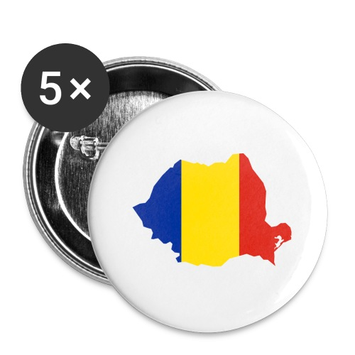 Romania - Buttons groot 56 mm (5-pack)