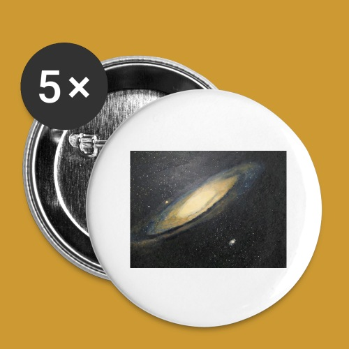 Andromeda - Mark Noble Art - Buttons large 2.2''/56 mm(5-pack)