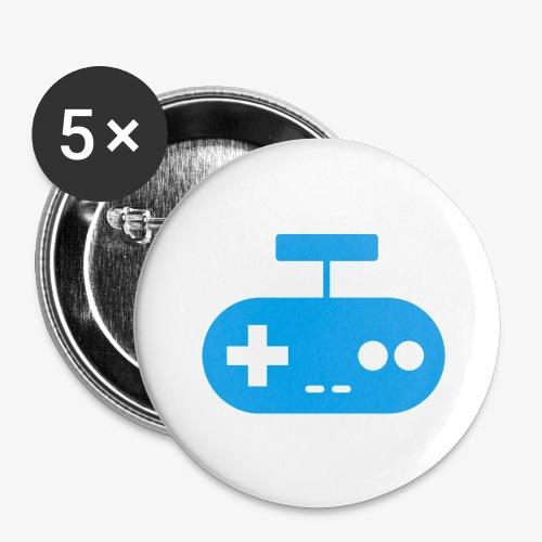 PREMIUM SO GEEEK GAMING - MINIMALIST DESIGN - Lot de 5 grands badges (56 mm)