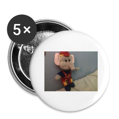 Elliot - Stora knappar 56 mm (5-pack)