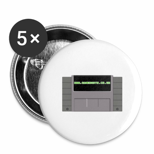 Super GameBooth Entertainment System - Buttons large 2.2''/56 mm (5-pack)