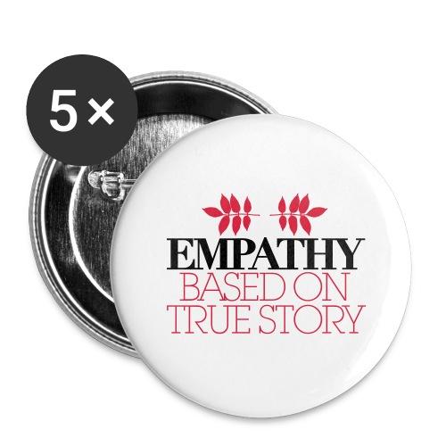 empathy story - Przypinka duża 56 mm (pakiet 5 szt.)