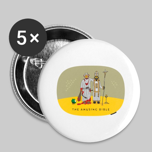 VJocys Devil Pope - Buttons large 2.2''/56 mm (5-pack)