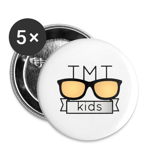 TMT Too Much Talent 09/17 - Buttons large 2.2''/56 mm (5-pack)