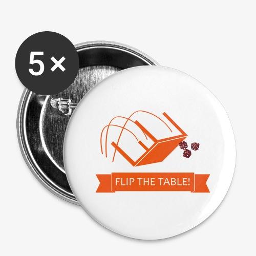 Flip the table! - Stor pin 56 mm (5-er pakke)