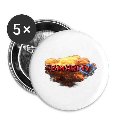 Pixelbmshop123123 - Stora knappar 56 mm (5-pack)