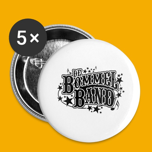 bb logo - Buttons groot 56 mm (5-pack)