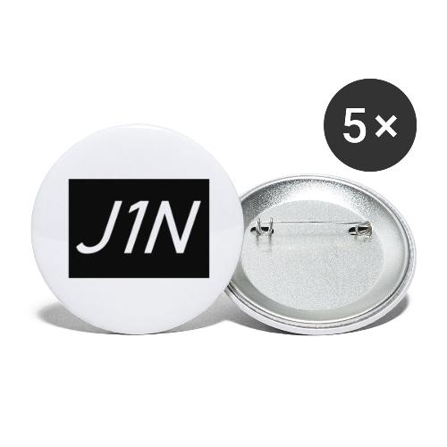 J1N - Buttons large 2.2''/56 mm(5-pack)