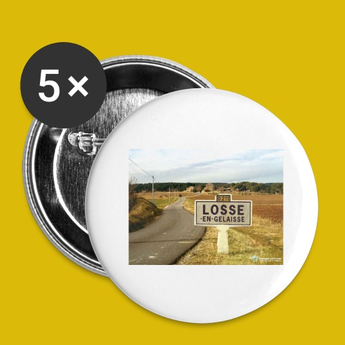 la LOOSE en gelée - Lot de 5 grands badges (56 mm)