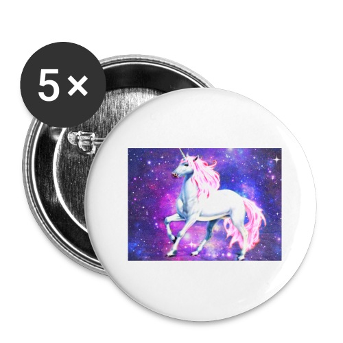 Magical unicorn shirt - Buttons large 2.2''/56 mm(5-pack)